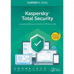 Kaspersky Kaspersky Total Security 3postes1an+VPN Offert