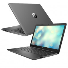 "Pc Portable HP Dual Core i3 10é Gén, Ecran 15.6"" - Gris"
