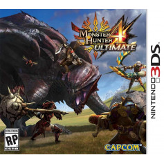 Jeux 3DS NINTENDO Monster HUNTER 4 Ultimate