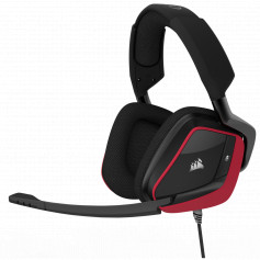 Casque micro Corsair surround Dolby 7.1 VOID PRO USB Rouge
