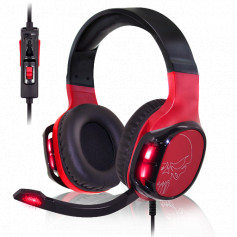 CASQUE MICRO SPIRIT OF GAMER RED ELITE H60