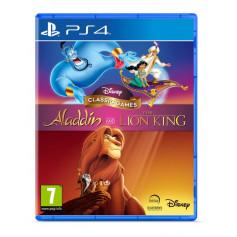 Jeu PS4 Disney - Aladin et Le Roi Lion (VF)