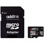 ADDLINK MicroSD 32GB UHS1 Class 10+ adapt