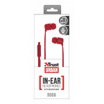 Duga In-Ear Headphones - red