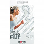 Écouteur Intra-Auriculaire Sport KONIX - Blanc