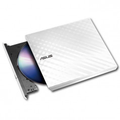 Graveur DVD Slim Externe USB ASUS (SDRW 08D2S-U) -Blanc