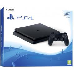 Console PS4 Sony PS4 Slim 500 Go avec Manette DualShock 4 Noir