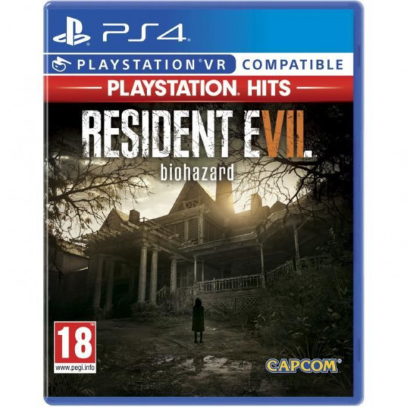 Jeu Resident Evil 7 Playstation Hits PS4