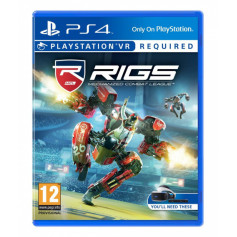 Jeux PS4 Sony RIGS Mechanized Combat League