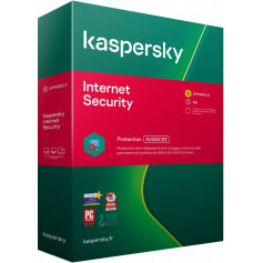 Internet Security KASPERSKY 2020 1Poste , abonnement 1 an