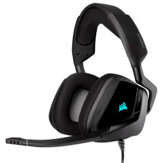 Casque gaming premium VOID RGB ELITE USB avec son surround 7.1 — Carbone