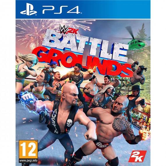 Jeu PS4 WWE 2K Battlegrounds VF