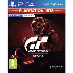 Jeu Gran Turismo Sport PlayStation Hits