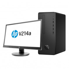 Pc bureau HP Pro 300 G3 i5, écran HP V214.7 HD LED 20.7""