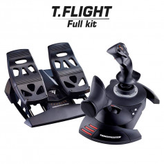Thrustmaster pack joystick T.Flight Hotas X + palonnier TFRP- T.Flight Rudder Pedals