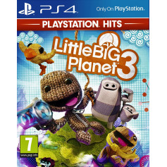 JEU LITTLE BIG PLANET 3 HITS PS4