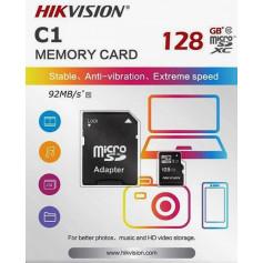 Carte memoire microSD HIKVISION 128 Gb Class 10 -UHS-I