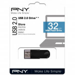 PNY FLASH DISK 32G USB 2.0 BLACK