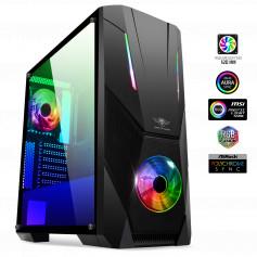 PC sure mesure BOOSTED-STREAMER Ryzen5 1600AF, GTX 1660 Super