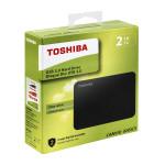 "Disque Dur Externe TOSHIBA 2 TB  CANVIO BASICS  2,5"" USB 3,0"