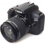 APPAREIL PHOTO REFLEX NUMERIQUE CANON EOS 4000D WIFI +OBJ 18-55 DC