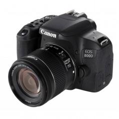 APPAREIL PHOTO REFLEX NUMERIQU CANON EOS 800D WIFI+ OBJ 18-55 IS STM