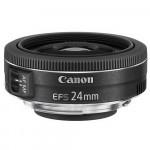 OBJECTIF CANON LENS EF 24mm  F/2.8 STM  (9522B005)