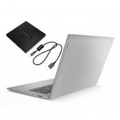 """Pc Portable Lenovo IP3, i3 10é Gén, Ecran 15"""" HD- PLATINUM GREY"""