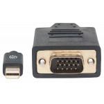 Câble Mini DisplayPort 1.2a mâle vers VGA mâle