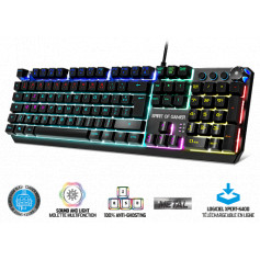 CLAVIER MECANIQUE SPIRIT OF GAMER XPERT K400 RGB