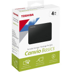 "Disque Dur Externe TOSHIBA 4 TB  CANVIO BASICS  2,5"" USB 3,0"