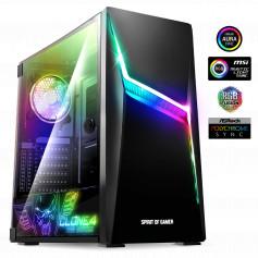 Pc sur Mesure ALPHA-CLONE 4, Intel I5-10400F, 16Go Ram, GTX 1660 Ventus 6Go