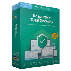 KASPERSKY TOTAL SECURITY 2021 5 POSTES / 1 AN